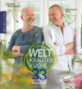 Buchgestaltung, Welt Kräuter Küche, 33 Exotische Kräuter in Garten und Küche, Wolfgang Pade, Daniel Rühlemann, Werbeagentur r2 Ravenstein, Verden