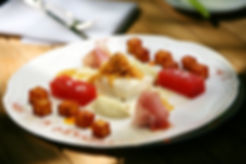Fotografie, Pades Restaurant, Teller, Dessert, Werbeagentur r2 Ravenstein, Verden