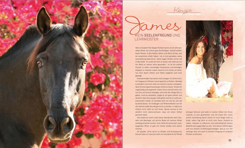 Buch - Kenzie Dysli und die Pferde - Edition Boiselle