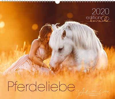Pferdeliebe Kalender 2020 der Edition Boiselle und Alexandra Evang