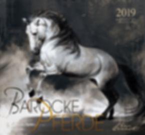 Kalender Barocke Pferde 2019