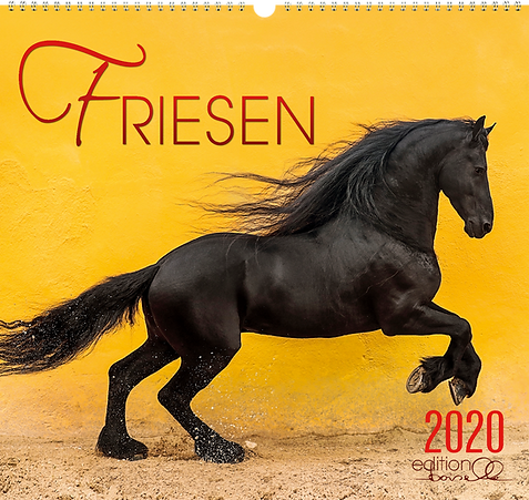 Kalender Friesen 2020 der Edition Boiselle