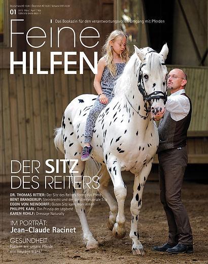 Magazin Gestaltung, Feine Hilfen, Der Sitz des Reiters, Werbeagentur r2 Ravenstein, Verden