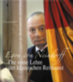Buchgestaltung, Die reine Lehre der klassischen Reitkunst, Egon von Neindorff, Werbeagentur r2 Ravenstein, Verden