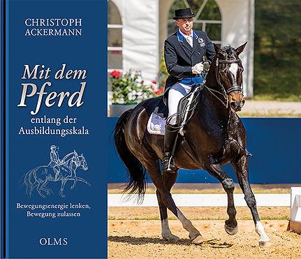 Buchgestaltung, Mit dem Pferd entlang der Ausbildungsskala, Christoph Ackermann, Werbeagentur r2 Ravenstein, Verden
