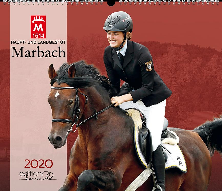 Kalendergestaltung, Marbach 2020 Kalender, Edition Boiselle, Werbeagentur r2 Mediendesign, Verden