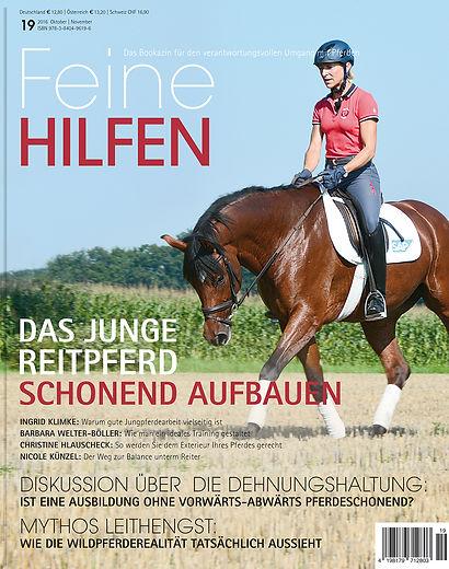 Magazin Gestaltung, Feine Hilfen, Das Junge Reitpferd schonend aufbaue, Werbeagentur r2 Ravenstein, Verden
