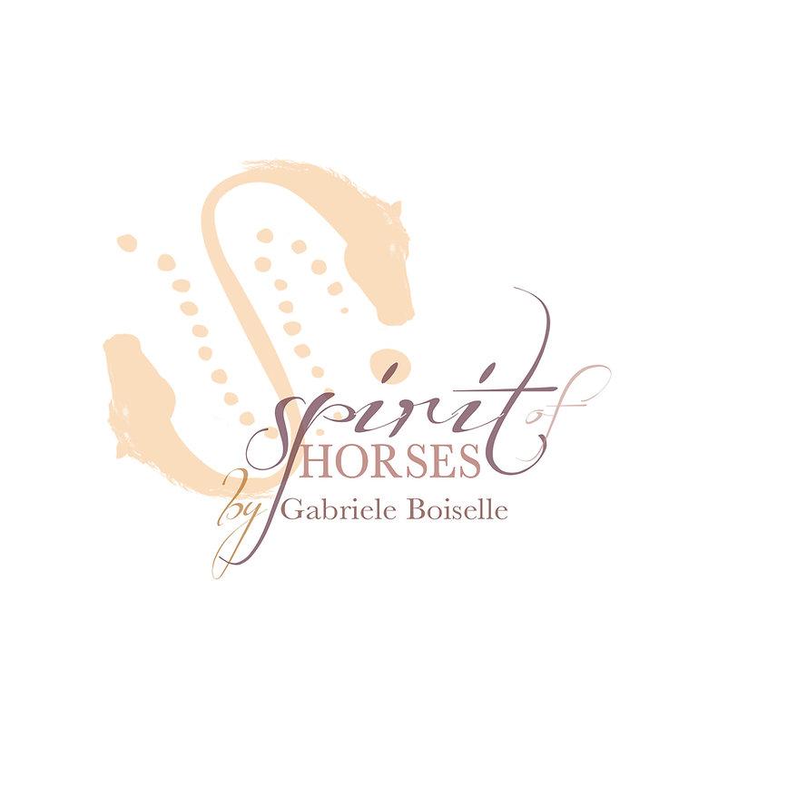 Print, Logodesign, Spirit of Horses by Gabriele Boiselle, Werbeagentur r2 Mediendesign, Verden