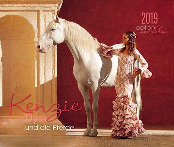 Kalender Kenzie Dysli und die Pferde 2019