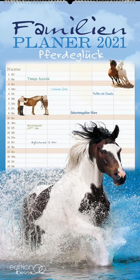 Familienplaner Pferdeglück 2021