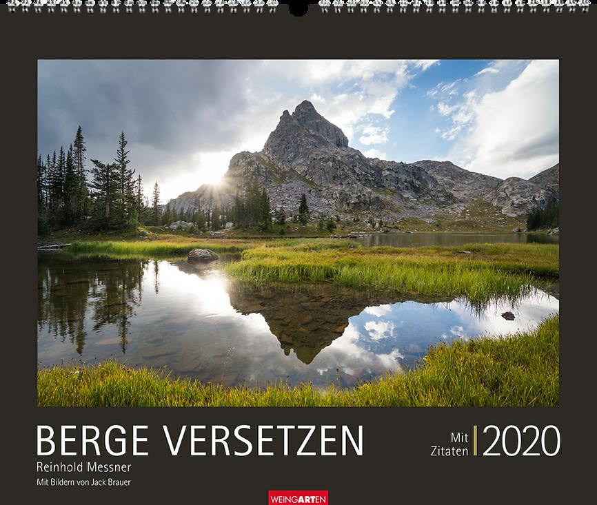Kalendergestaltung, Berge versetzen 2020 Kalender, Reinhold Messner, Weingarten, Werbeagentur r2 Mediendesign, Verden