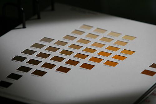 Farbkarte Orange