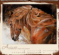 Kalendergestaltung, Barocke Pferde 2020 Kalender, Elise Genest, Edition Boiselle, Werbeagentur r2 Mediendesign, Verden