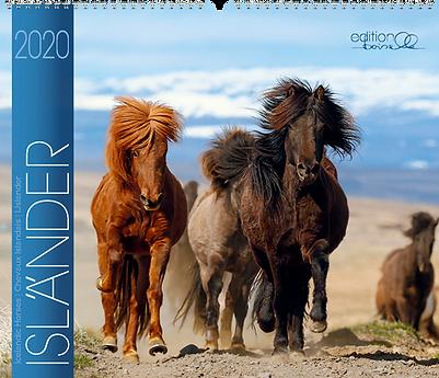 Kalender Isländer 2020 der Edition Boiselle