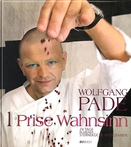 Buchgestaltung, 1 Prise Wahnsinn, 24 Tage in meiner Sterneküche im Dezember, Wolfgang Pade, Werbeagentur r2 Ravenstein, Verden