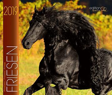 Kalender Prächtige Friesen 2019