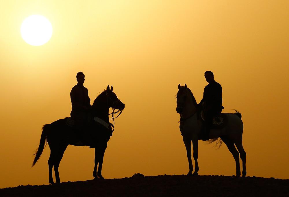 Fototipp Reiter in der Wüste