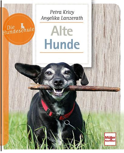 Buchgestaltung, Alte Hunde, Die Hundeschule, , Müller Rüschlikon Verlag, Werbeagentur r2 Ravenstein, Verden