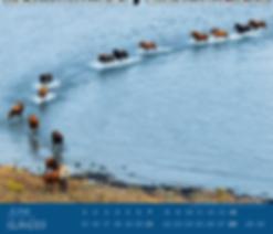 Kalendergestaltung, Isländer 2020 Kalender, Edition Boiselle, Werbeagentur r2 Mediendesign, Verden