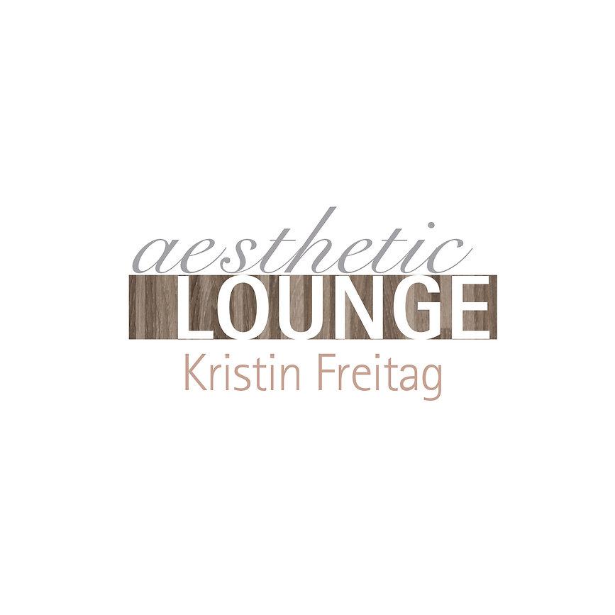 Print, Logodesign, aesthetic lounge, Kristin Freitag, Werbeagentur r2 Mediendesign, Verden