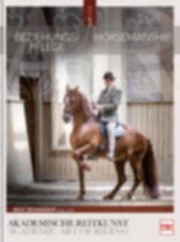 Buchgestaltung, Akademische Reitkunst 1, Beziehungspflege, Bent Branderup, Werbeagentur r2 Ravenstein, Verden