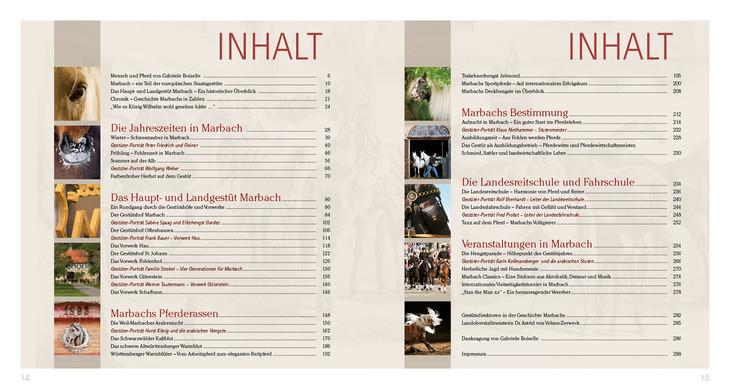 Buch - Haupt- und Landgestüt Marbach - Edition Boiselle