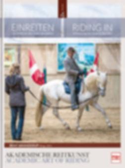 Buchgestaltung, Akademische Reitkunst 4, Einreiten, Bent Branderup, Werbeagentur r2 Ravenstein, Verden