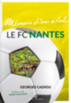 Buchgestaltung, Mémoire d´un club, Le FC Nantes, Georges Cadiou, Préface de Pierre-Louis Basse, Éditions Wartberg, Werbeagentur r2 Ravenstein, Verden
