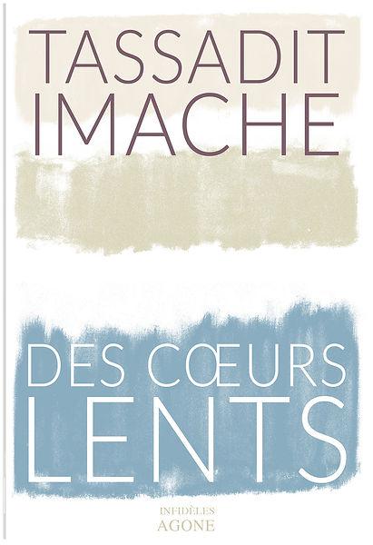 Buchgestaltung, Des coeurs Lents, Tassadit Imache, Infideles Agone, Werbeagentur r2 Ravenstein, Verden
