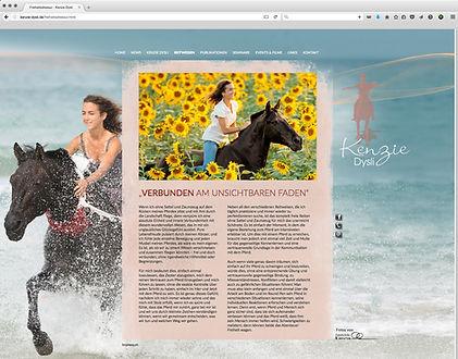 Webdesign, Kenzie Dysli, Werbeagentur r2 Mediendesign, Verden