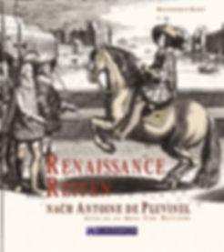 Buchgestaltung, Renaissance Reiten nach Antoine de Pluvinel, Reiten wie der König – eine Reitlehre, Branderup-Kern, Werbeagentur r2 Ravenstein, Verden