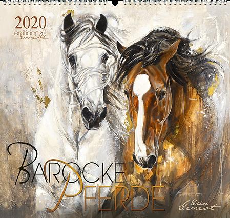 Kalender Baroke Pferde 2020