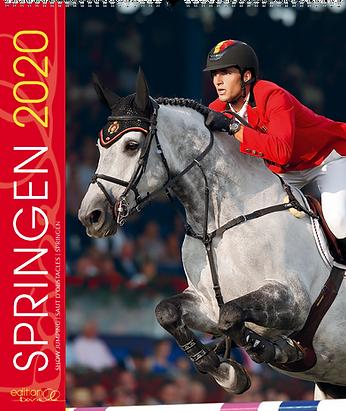 Sportkalender Springen 2020 der Edition Boiselle
