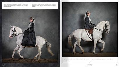 Buchgestaltung, Pferde im Profil, Facetten der Dressur, Anja Beran, Werbeagentur r2 Ravenstein, Verden