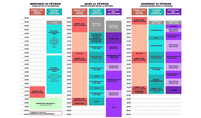 FR Programme at a glance - Sommet du des