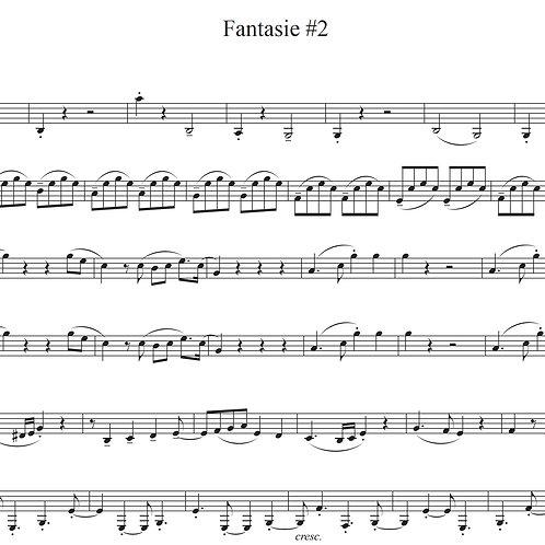 """""""Fantasie #2"""" Download Septett Noten"""