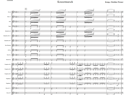 """""""Echt Nett"""" Download - Noten für Blasorchester"""