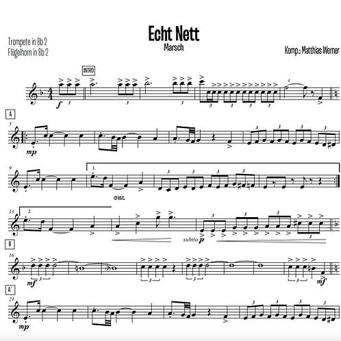 """""""Echt Nett"""" Download Septett Noten"""