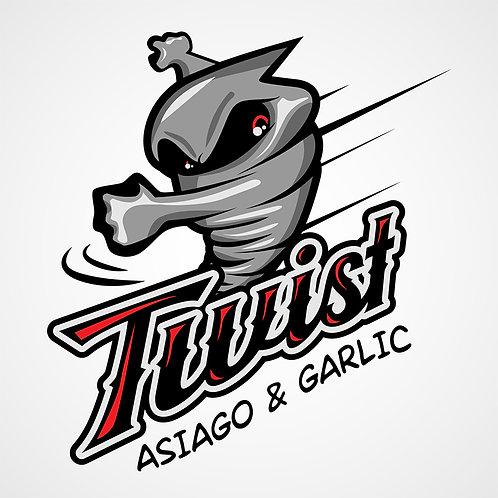 Asiago and Garlic