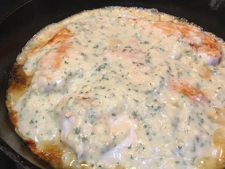 Skillet Crack Chicken