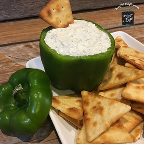 How to Make a Bell Pepper Dip Bowl