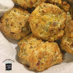 Bacon Drop Biscuits