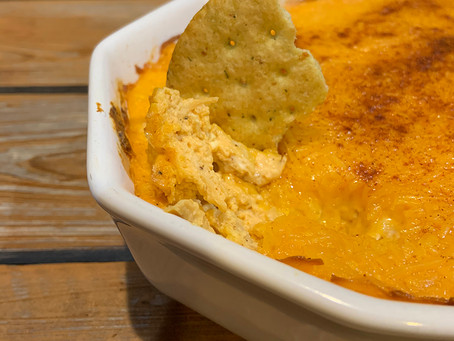 Cheesy Buffalo Dip