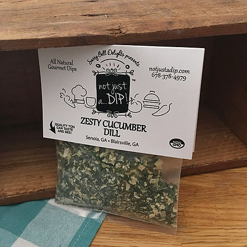 Zesty Cucumber Dill Dip Mix