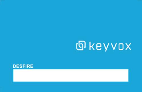 KEYVOX Desfireカード