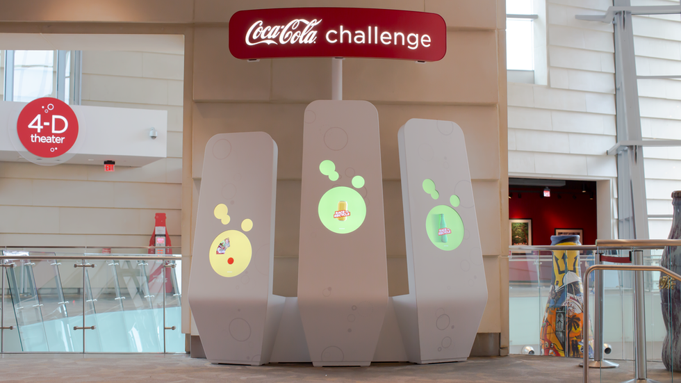 World of Coca-Cola Interactives