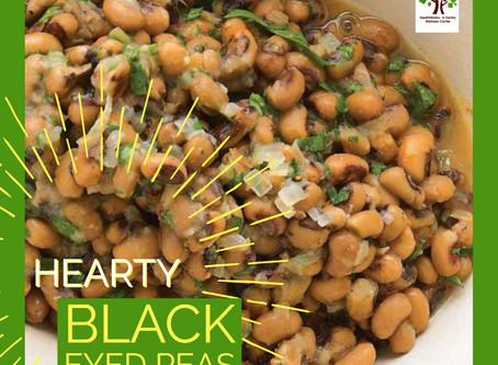 Hearty Black Eyed Peas   Happy New Year!