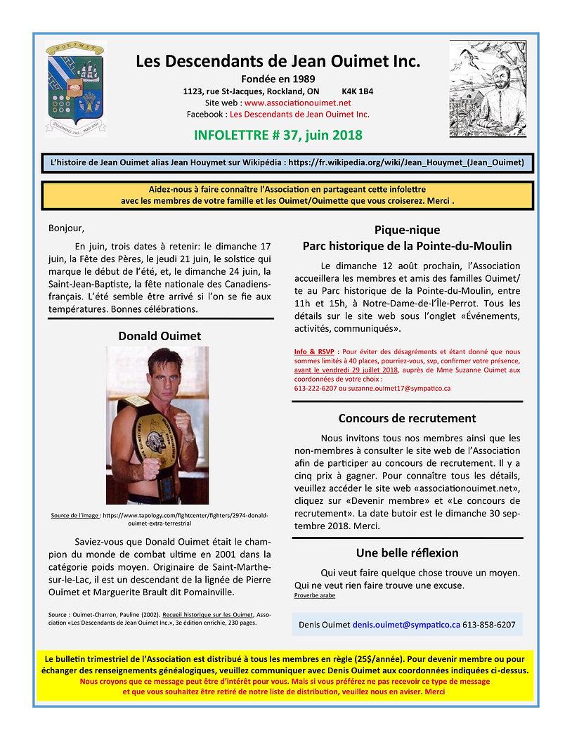LDJOI Infolettre # 37 (juin 2018) versio
