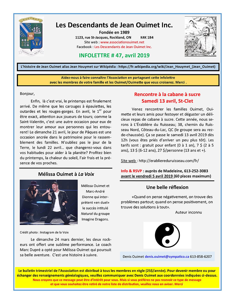LDJOI Infolettre # 47 (avril 2019) PDF-1