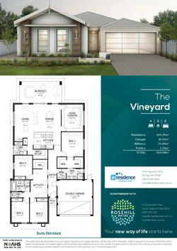 Rosehill Waters - InResidence Floor Plan